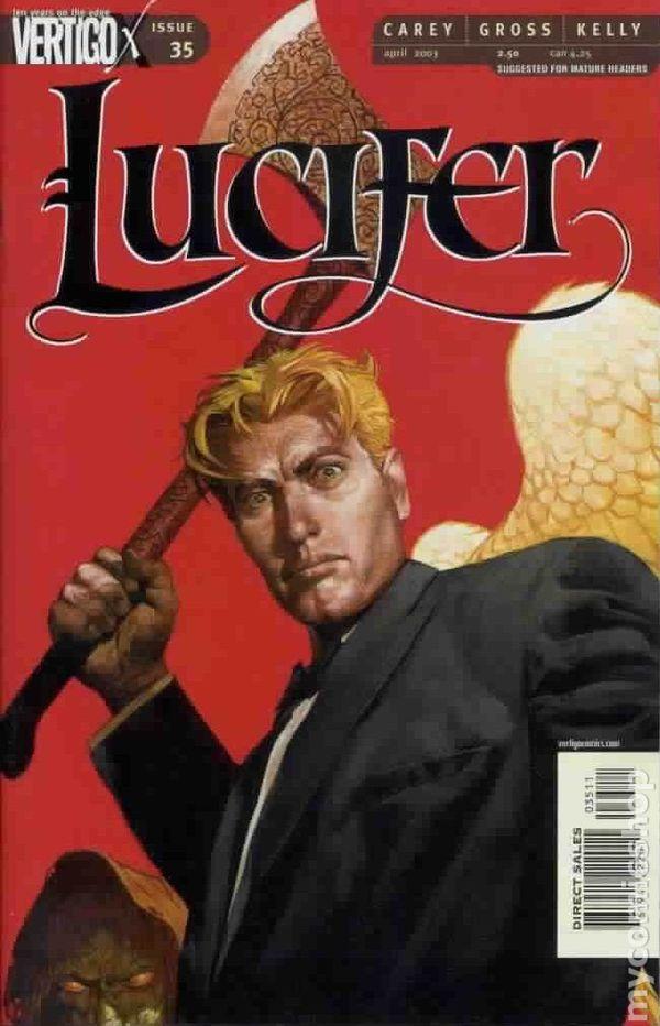 Lucifer Comic Cover