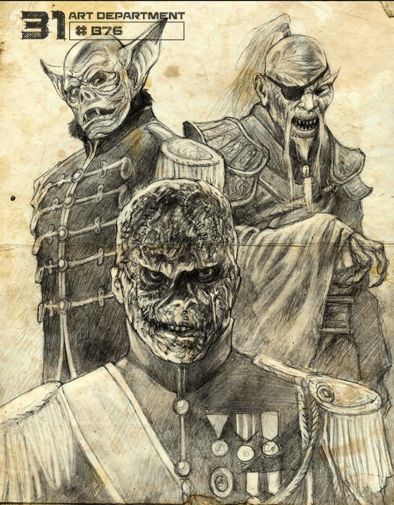 Rob Zombie 31 Concept Art