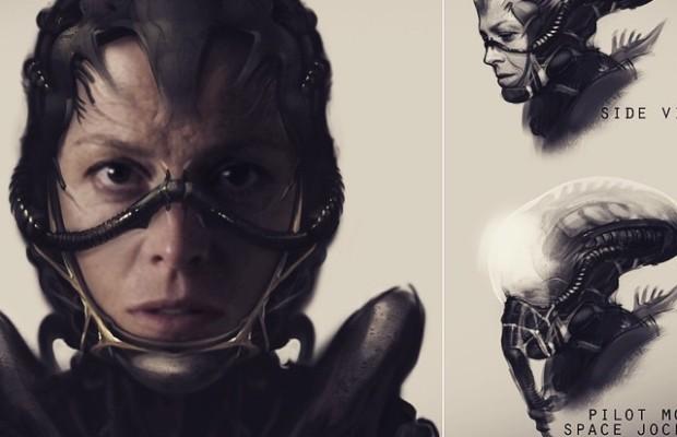 Alien 5 Sigourney Weaver