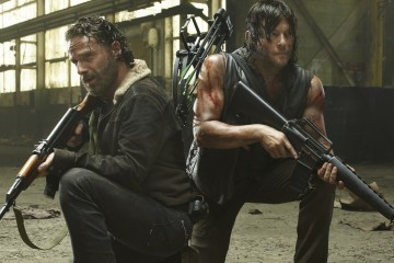 The Walking Dead Rick and Daryle