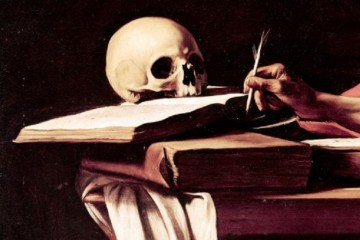 Skull Writing