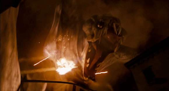 Who knew the Cloverfield monster just wanted to be seen?