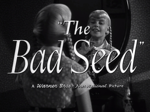 bad seed title card