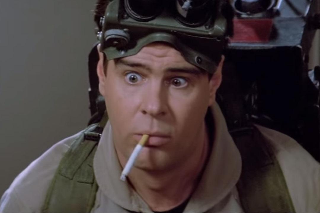 Dan Aykroyd's Cameo In 'Ghostbusters - 54.6KB
