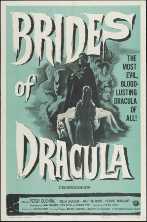 'The Brides of Dracula' (1960)